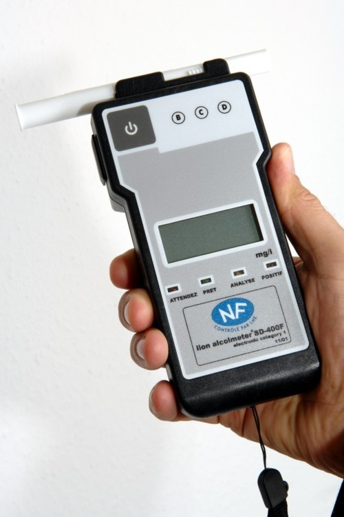 Ethylotest Électronique Alcometer SD400F (NF)